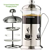 OVENTE FSC34S French Press Cafetière Coffee and