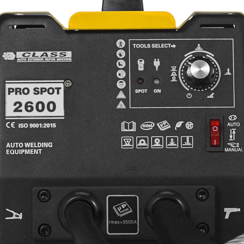 VEVO Karosserie Ausbeulspotter 3500 A Karosserie Spotter 220V Dent Puller Punktschwei/ßger/ät 25 kg Punktschwei/ßger/ät ausbeulspotter