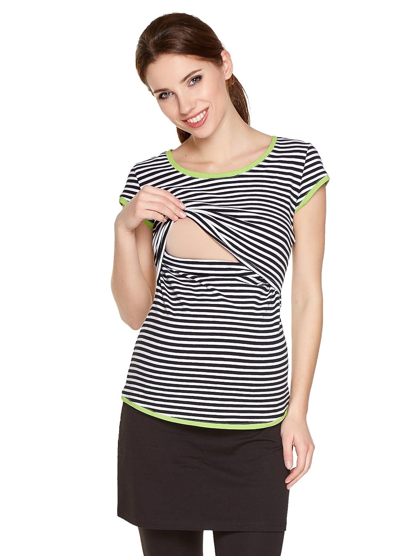 Schwangerschaftsshirt Mama Still-Shirt Umstandstop Still-Top Be Modell: Lea