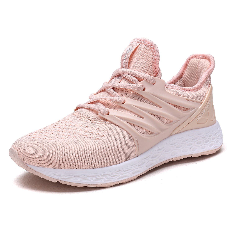DREAM PAIRS Womens Running Shoes B075F99RGR 9 B(M) US|Shell Pink