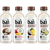 Bai Coconut Flavored Water, Cocofusions Variety Pack II, 18 Fluid Ounce Bottles,