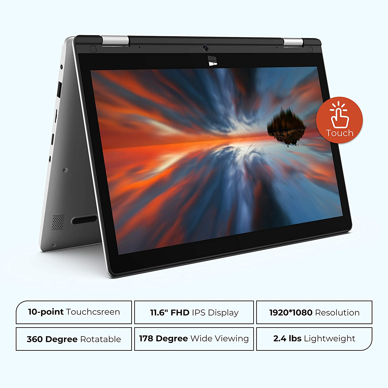 XIDU la nueva marca low cost de portátiles con pantalla táctil 2 XIDU philbook