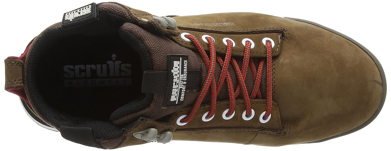 7 UK Scruffs Switchback Sb-P talla 41 EU color amarillo Zapatos de seguridad para hombre