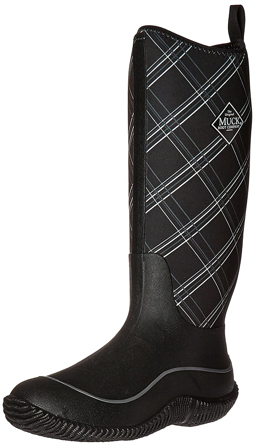 MuckBoots Women's Hale Plaid Boot B01IQ6YZ96 7 B(M) US|Black/Gray Plaid