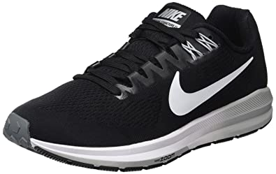 0386c29b1517 ... running shoes e2ff4 fc20d  official store nike womens w air zoom  structure 21 black white wolf grey 5 ddaf2 3d7ef