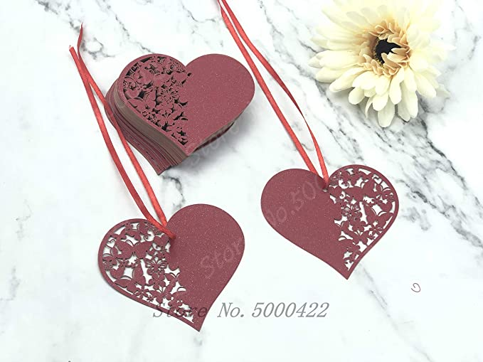 THANK YOU Flowers Paper Card Rewards Bouquet for Wedding Party Decor Gift 50pcs