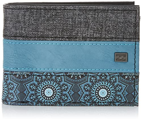 BILLABONG Tribong Wallet Monedero, Hombre, Azul (Navy Heather), 10 x 2 x 12 cm (W x H x L): Amazon.es: Deportes y aire libre