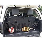 Envelope Style Trunk Cargo Net for Toyota 4Runner 2010 11 12 13 14 15 16 17 2018 2019 2019 2020 3 Row Model Only