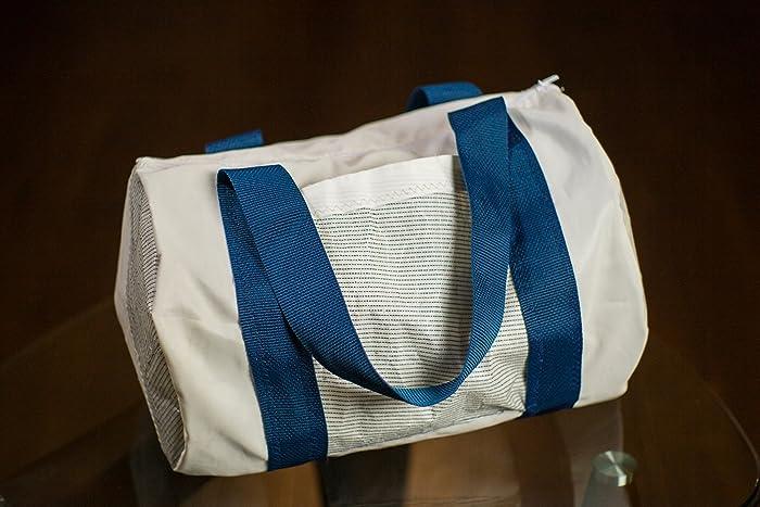 47134e56a226 Amazon.com  Recycled Sailcloth Duffel Bag  Handmade