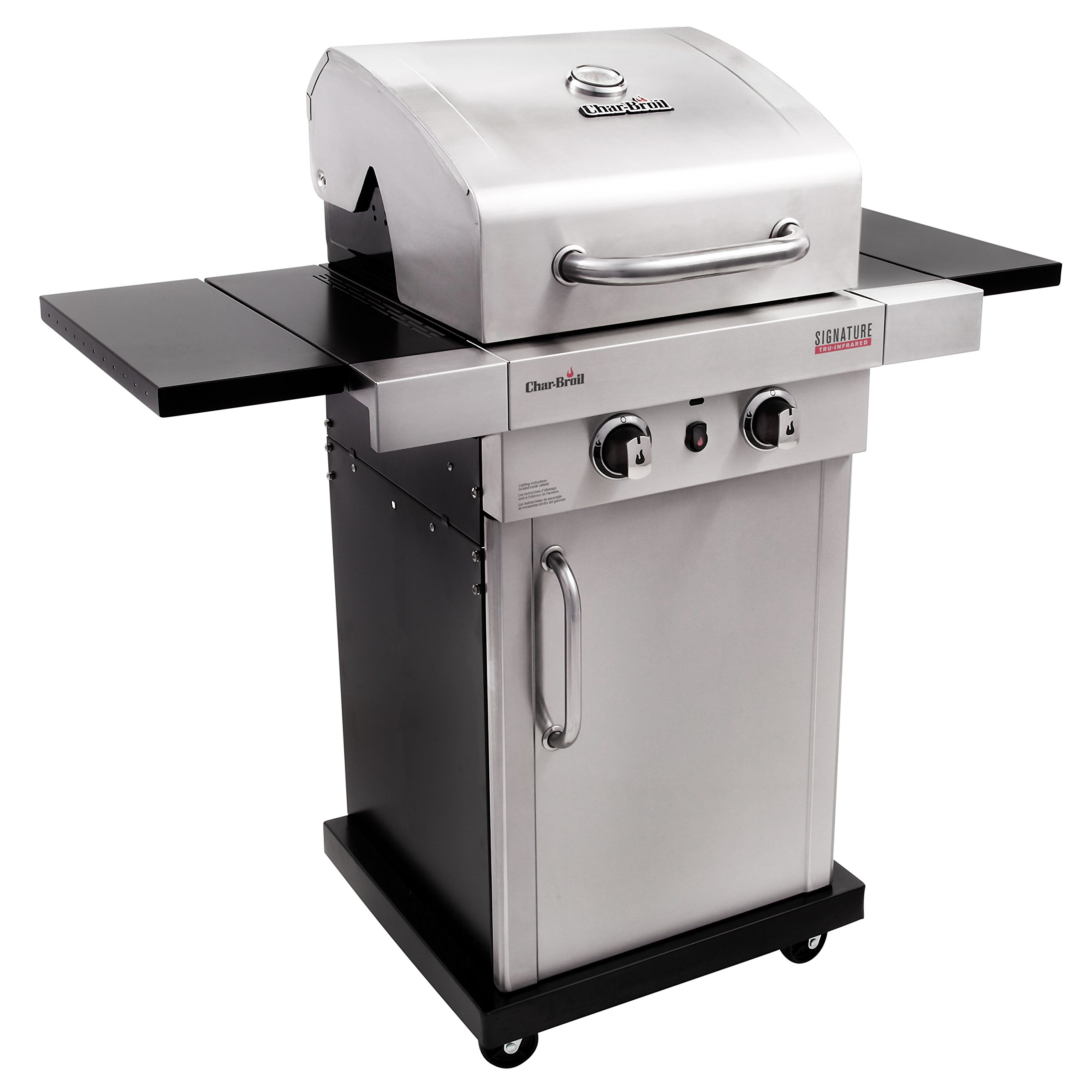 Char-Broil Signature TRU-Infrared 325 2-Burner Cabinet Liquid Propane Gas Grill by Char-Broil