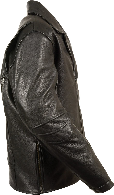 Milwaukee Mens Vented Updated Motorcycle Jacket Black, XX-Large