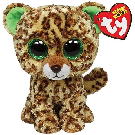 2827d8856de Amazon.com  Ty Beanie Boos Speckles Plush - Leopard