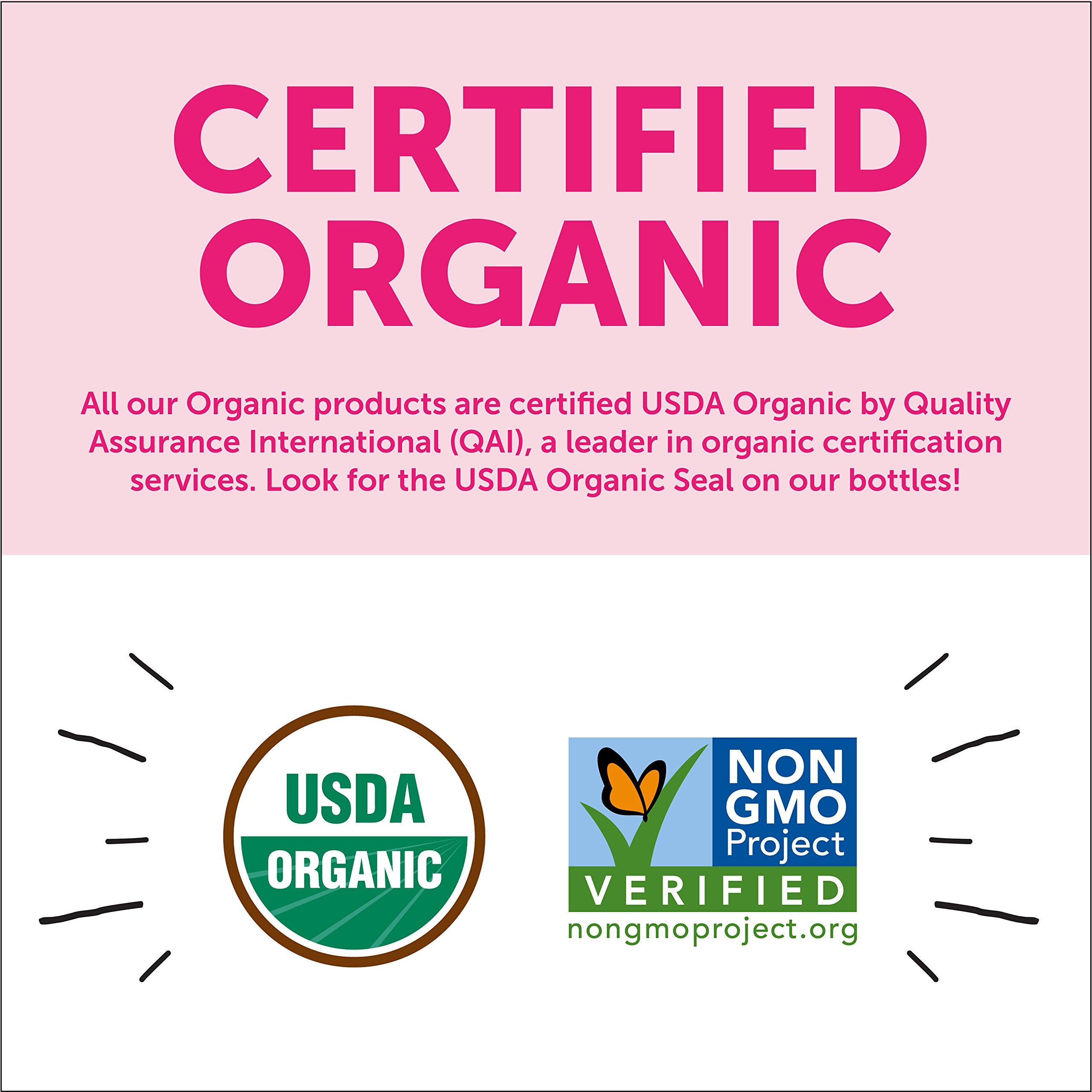 SmartyPants Vegetarian Organic Kids Daily Gummy Vitamins: Multivitamin, Gluten Free, Non-GMO, Omega-3, Probiotic, Vitamin D3, Methylcobalamin B12, Zinc; 120 Count (30 Day Supply) by SmartyPants Vitamins (Image #7)