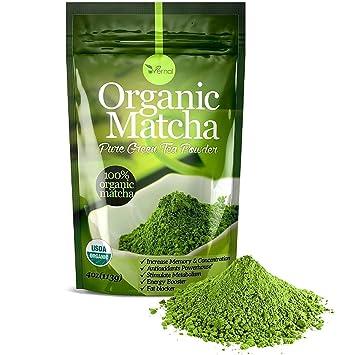 Amazon.com : Organic Matcha Green Tea Powder - 100% Pure Matcha ...
