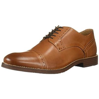 Nunn Bush Men's Middleton Cap Toe Oxford, Cognac, 9.5 Medium US: Shoes
