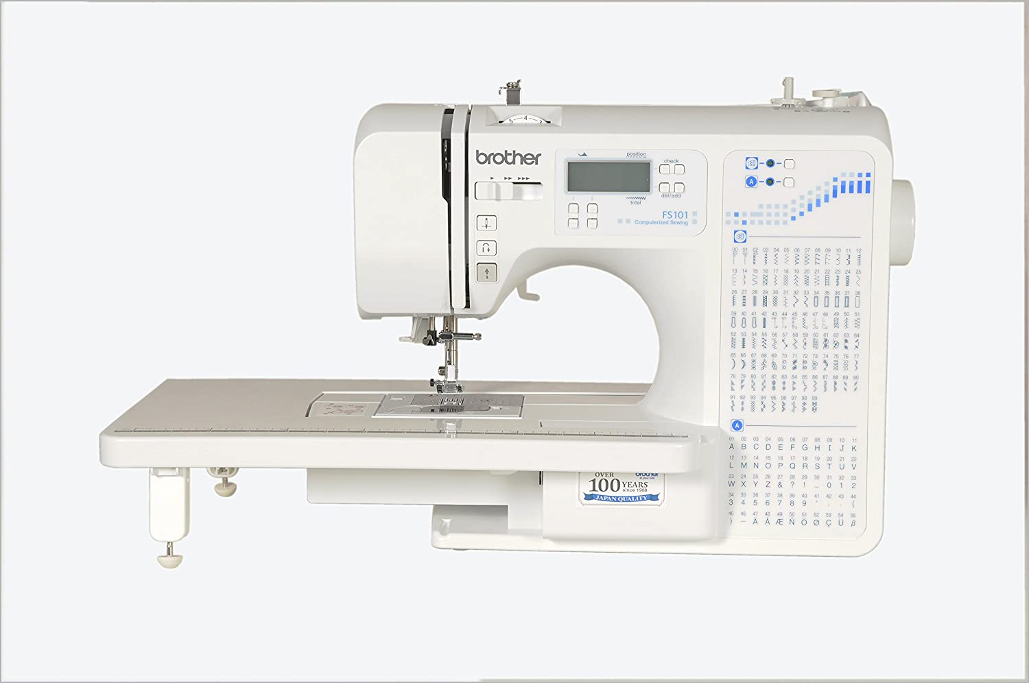 Brother Fs 101 Computerized Sewing Machine With Wide Tablewhite Circuit Board Dream Maker Rs101 Home Kitchen