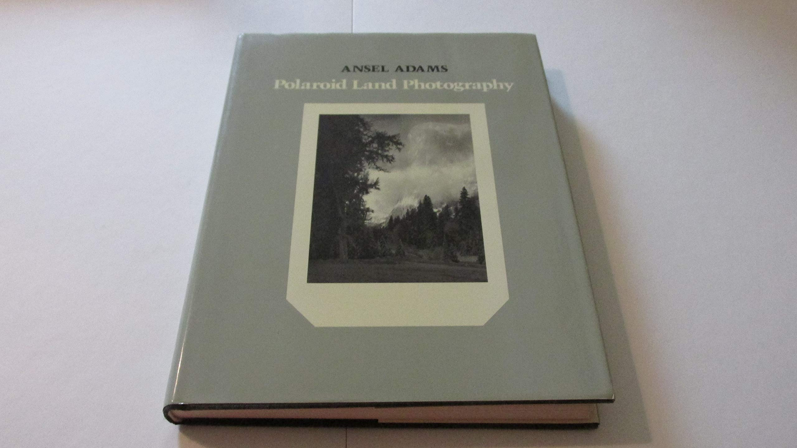 polaroid land photography by ansel adams 1979 04 27