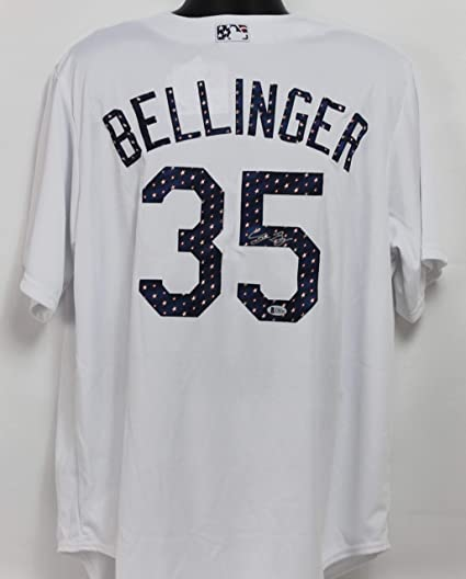 wholesale dealer f9b89 90e8a Cody Bellinger Autographed Los Angeles Dodgers Jersey w ...