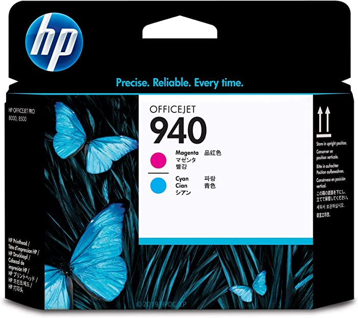HP 940 | Ink Printhead | Cyan & Magenta | C4901A