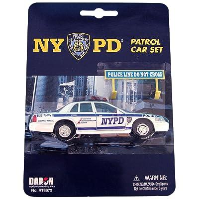 Daron NYPD Police Car Set: Toys & Games