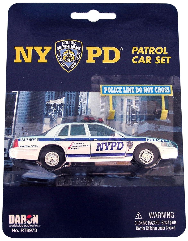 amazon com daron nypd police car set toys u0026 games