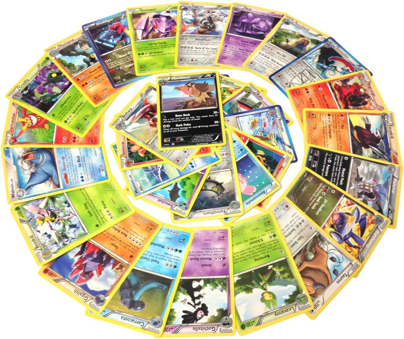 Pokemon 25 Rare Cards with 100 HP or Higher w/ Guaranteed EX