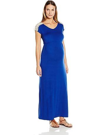 f35c112933669 Everly Grey Women's Maternity Abbey Maxi Dress