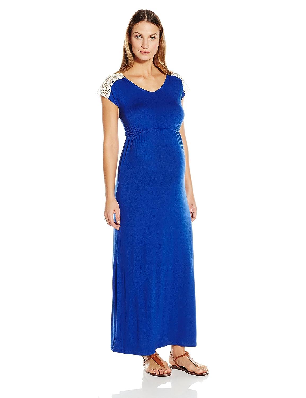 Everly Grey Women\'s Maternity Abbey Maxi Dress at Amazon Women\'s ...