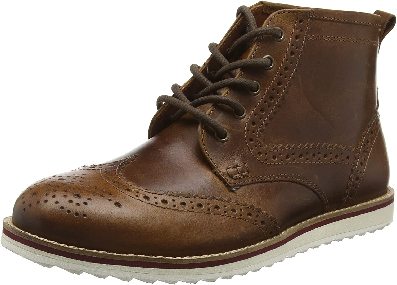 Red Tape Horwood, Botas Estilo Motero para Hombre