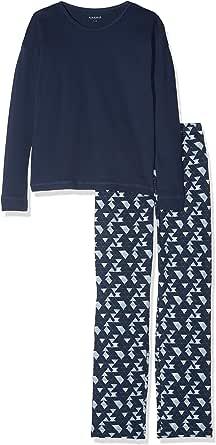 Schiesser Family Mädchen Anzug Lang Conjuntos de Pijama para Niñas