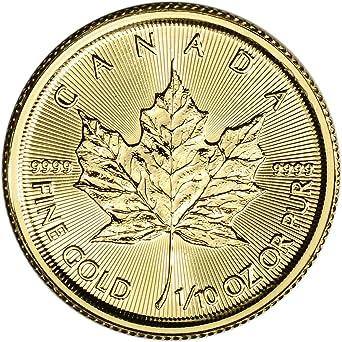 2019 CA Canada Gold Maple Leaf (1/10 oz) $5 Brilliant