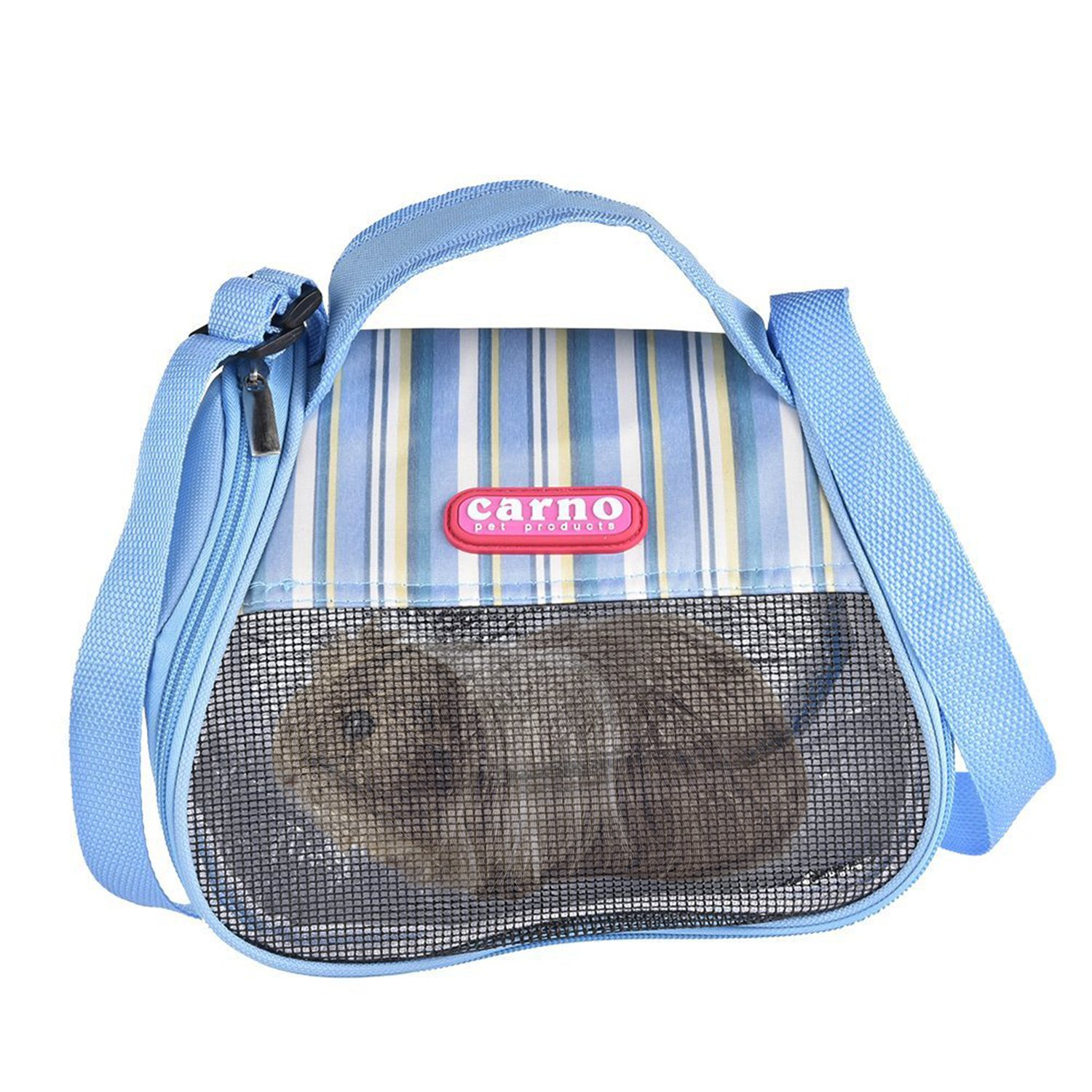 RYPET Hamster Carrier Bag - Portable Breathable Outgoing Bag for Guinea Pig Hedgehog Squirrel Chinchilla and Other Similar Sized Animal