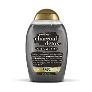 OGX Purifying + Charcoal Detox Shampoo, 13 Ounce