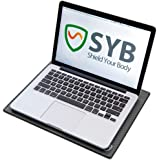 """SYB Laptop Pad, EMF Radiation Protection Shield & Heat Blocker for Laptops up to 14"""" (Midnight Microwave)"""