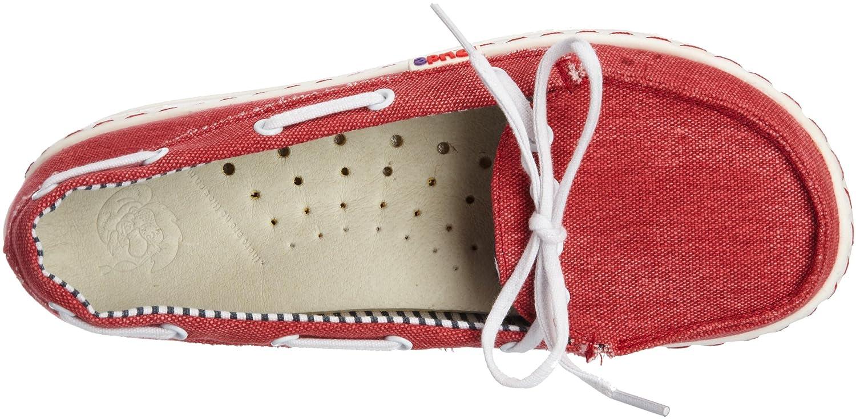 Dude Moka Ladies Schuhes Schuhes Schuhes ROT 6f8dec