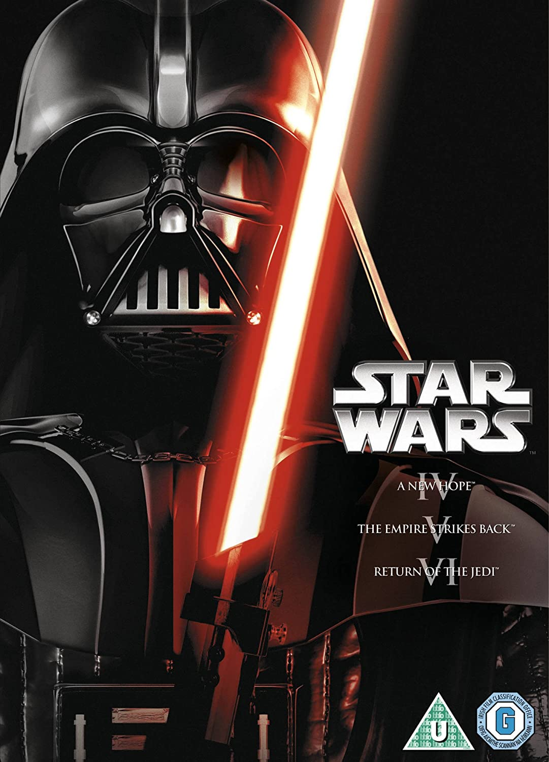 Star Wars - The Original Trilogy (3 Dvd) [Edizione: Regno Unito] [Italia]