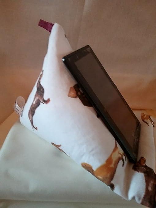 Dachshund en caja de regalo de color blanco – Tablet Kindle ipad ...