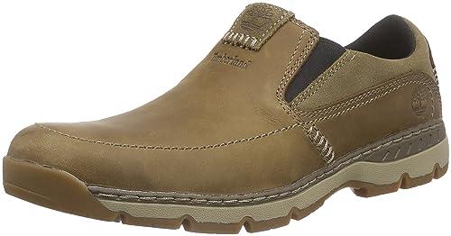 Timberland Fuller St. Slip On, Mocasines para Hombre, Marrón-Braun (Lite Brown), 49 EU: Amazon.es: Zapatos y complementos