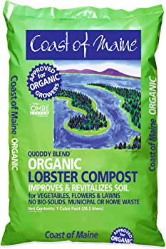 COAST OF MAINE 62.39 pounds Compost For Garden Soil