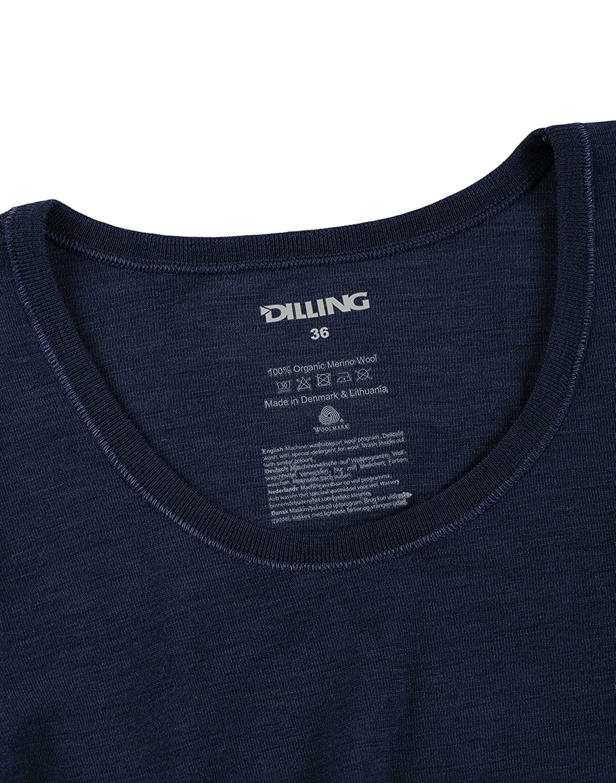 9ec86cb9f1de81 Dilling Langarmshirt fü r Damen - aus 100% Bio-Merinowolle ...