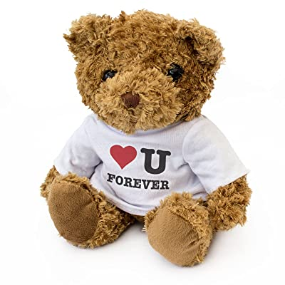 New - I Love You Forever - Teddy Bear - Cute Soft Cuddly - Gift Present Birthday Xmas: Toys & Games [5Bkhe0702241]