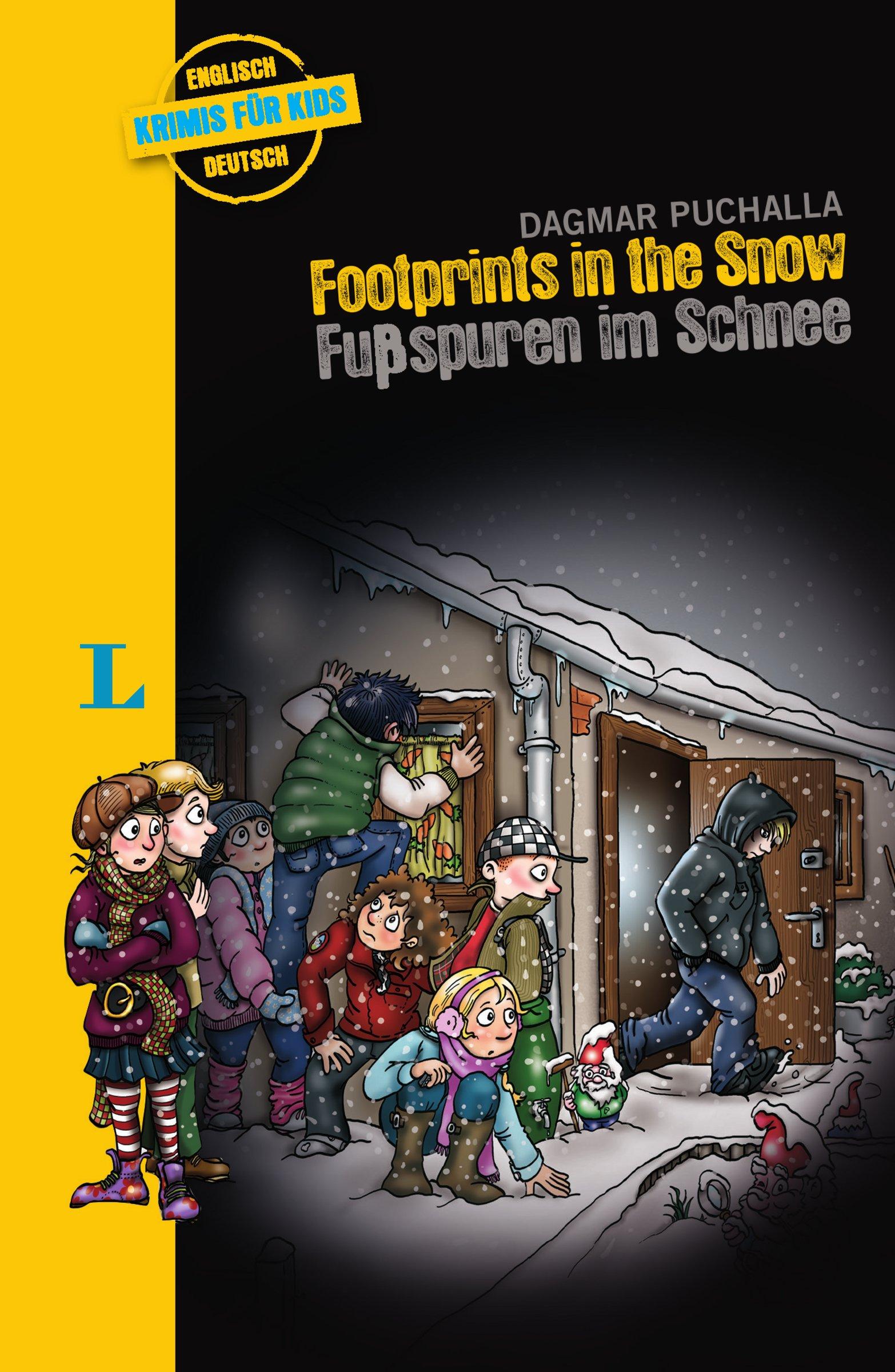 Footprints in the Snow – Fußspuren im Schnee: Krimi für Kids