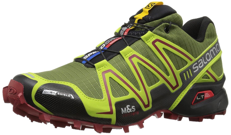499611f42e Salomon Men s Speedcross 3 CS Running Shoes Yellow Gelb (Genepi-X ...