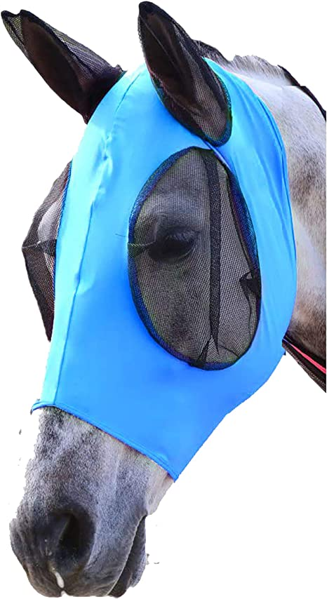 masque anti uv cheval