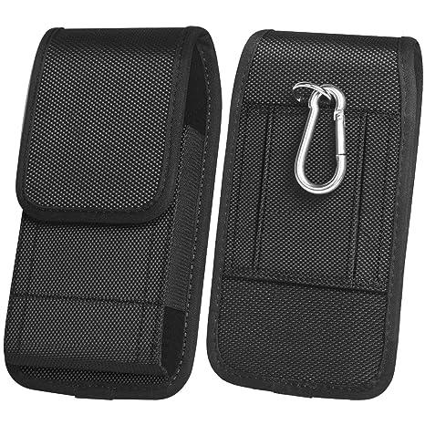 ykooe Handy Gürteltasche Nylon Hüftentasche mit Klettverschluss Armee-Stil Handy Schutzhülle Tasche für Smartphone als Gesche