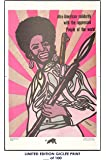 RARE POSTER black panthers AFRO AMERICAN SOLIDARITY movie 1997 emory REPRINT #'d/100!! 12x18