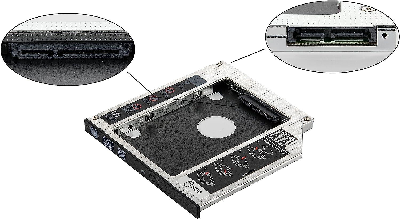 Poppstar - Marco de Disco Duro para Disco Duro SSD HDD de 2.5