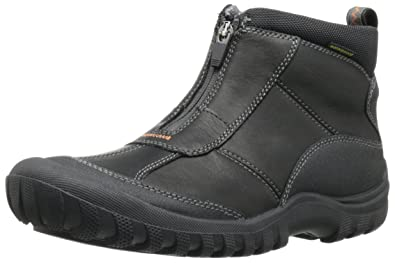 Clarks 66087 Mens Archeo Zip Leather Black Lea 14 M/ UK:SIZE 13 M