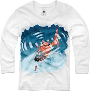 product image for Shirts That Go Little Boys' Long Sleeve Helicopter T-Shirt