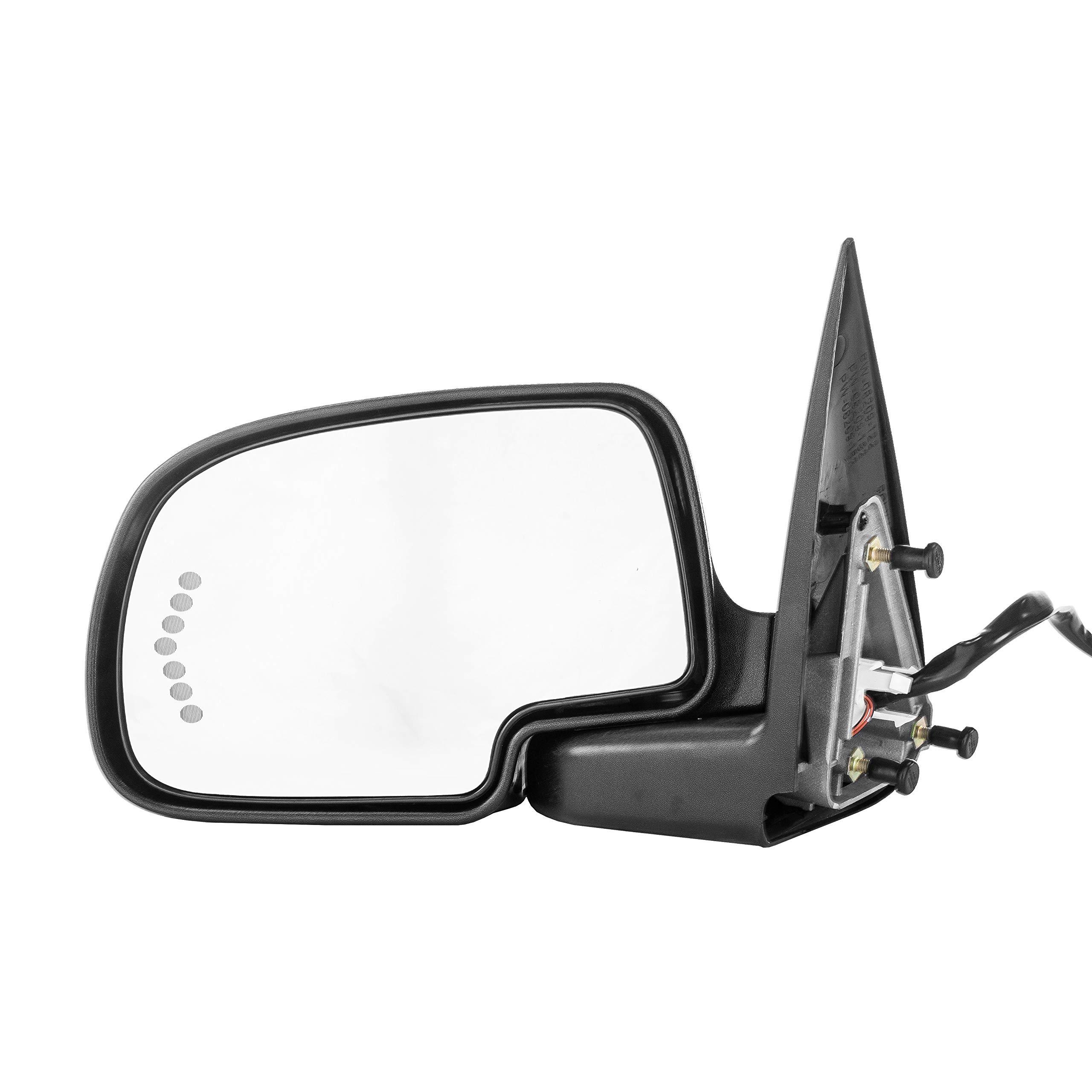 2000-2006 Chevy Suburban 1500 2500 Passenger Side Power Heated Folding Mirror